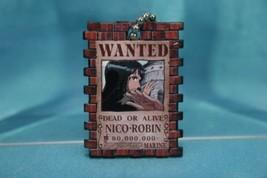 Bandai One Piece Portrait Plate P3 Gashapon Keychain Figure Nico Robin - $16.99