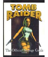 TOMB RAIDER Lara CROFT 96 Eidos Official Strategy Guide Playstation Sega... - $14.99