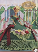 Miss January 1992, Annie's Cotillion Crochet Doll Clothes Pattern Bookle... - $2.95