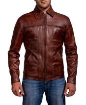 Inception Cobb Leonardo Celeb Style Replica Men Leather Jacket