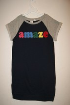 Gap Kids Girl's Blue Galaxy Amaze Sweatshirt Shift Dress S L XL 6-7 10 1... - $12.00