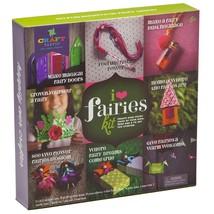 Craft-tastic Ann Williams Group CT1684 I Love Fairies Kit, Craft Kit Mak... - $32.22