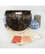 Cult Gaia Brown Tortoise Arc Acrylic Clutch Bag NWT - $261.86