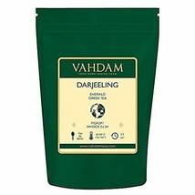 VAHDAM, Darjeeling Emerald Green Tea Loose Leaf 50 Cups   Pure Green Tea... - $33.99