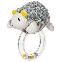 Mary Meyer Baby Rattle, Sunshine Hedgehog Ring - $12.99