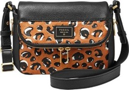 New Fossil Preston Women's Small Flap Leather Crossbody Bags Variety Color - $113.68+