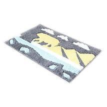 PANDA SUPERSTORE Home Decoration Bathroom Floor Mat Non-Slip Mats,Polar Bear, Gr