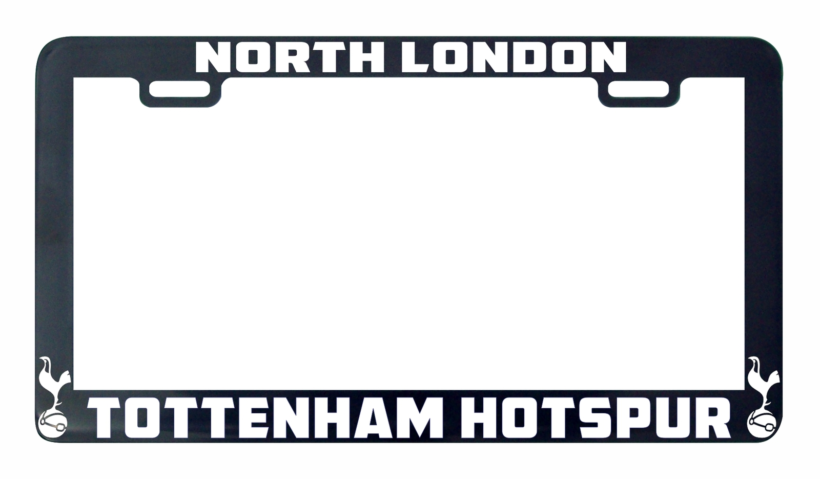Primary image for Tottenham Hotspur North London  soccer futbol license plate frame holder tag