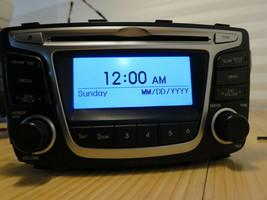 OEM 12-14 Hyundai Accent Factory AM FM CD XM MP3 Radio Receiver 96170-1R1104X - $51.06