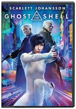 Ghost in the Shell [DVD, 2017] New