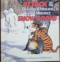 Attack of the Deranged Mutant Killer Monster Snow Goons Calvin and Hobbe... - $3.95