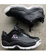 Fila 96 Low Men's Basketball Shoe Size 11 Grant Hill Retro Black White R... - $74.25