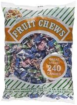 Albert's Fruit Chews - Assorted Flavors 240 Candies - $13.64