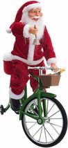 Mr. Christmas 30482 Cycling Santa Holiday Decoration One Size Multi - $98.99