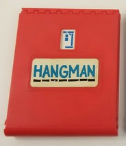 Vintage 1976 HANGMAN Board Game RED REPLACEMENT BOARD ONLY with Letters - $9.49