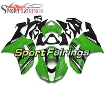 Green Silver Body Frames For Kawasaki 2007 2008 ZX-6R ABS Injection Plas... - $417.58