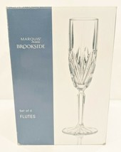 Marquis by Waterford Brookside 6-Ounce Champagne Flutes, Set of 4 NEW  1... - $64.35