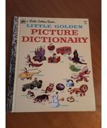 A Little Golden Book Little Golden Picture Dictionary 1977 #369 - $3.47