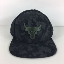 Under Armour X Project Rock Brahma Bull Snapback Adjustable Hat Cap Blac...  - e25e5cc646c1
