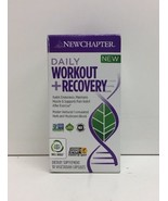 (New) New Chapter  Daily Workout +  Recovery - 30 Vegetarian Capsules - $22.27
