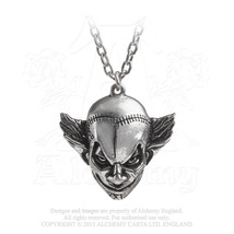 M'era Luna Evil Clown Pendant by Alchemy Gothic - $20.00