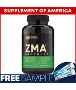 """Optimum Nutrition ZMA 90 Capsules """"FREE SHIPPING"""" - $17.71"""