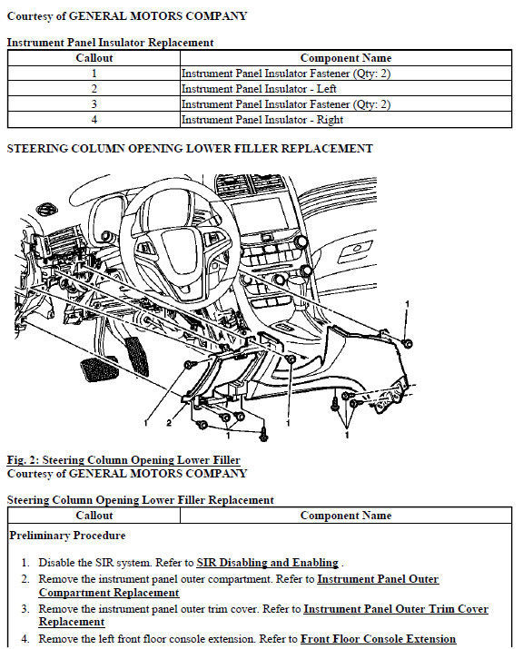 factory manuals for cars