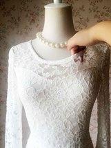 Ivory White Lace Boho Dress Wedding Dresses Bohemian Wedding Dress BOHO WEDDING image 5
