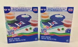 Baby Alive Super Snacks Box New Set Lot 2 Reusable Solid Food Containers... - $17.77