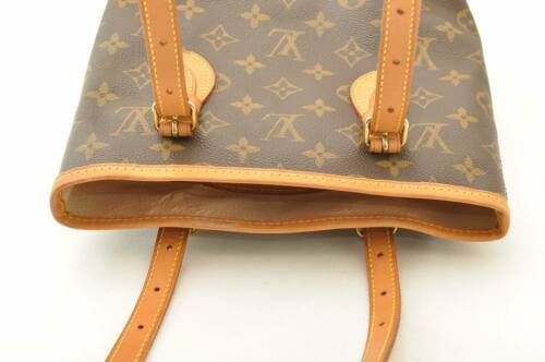 LOUIS VUITTON Monogram Bucket PM Shoulder Bag M42238 LV Auth sa2271 **Sticky image 6