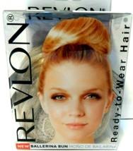 Revlon Ballerina Bun Ready To Wear Hair Piece Dark Blonde New! - $7.83