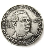 1946 Booker T Washington Half Dollar USA American Commerative Casted Coin - $11.99