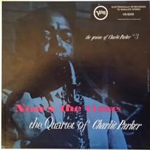 The Quartet Of Charlie Parker* – Now's The Time Vinyl LP  - £11.62 GBP