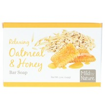 Mild By Nature, Relaxing Bar Soap, Oatmeal & Honey, 5 oz (141 g) - $6.00