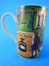 Dunoon Stoneware Golf Theme  Mug Cup Scotland Father's or Mother's day gift - $8.31