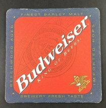 Anheuser-Busch Budweiser King of Beers Vintage 1999 Beer Bar Coaster - $6.92