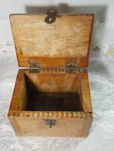 VINTAGE CLARITE HIGH SPEED COLUMBIA TOOL STEEL CO. WOODEN BOX image 8
