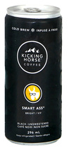 Kicking Horse Coffee Cold Brew Smart Ass Bright 6 x 296ml Canadian  - $69.99