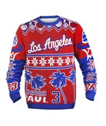 NBA Klew Los Angeles LA Clippers Chris Paul CP3 #3 Player Ugly Sweater - $49.95