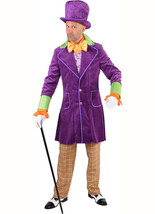Deluxe Willy Wonka Costume + Hat  - $79.69