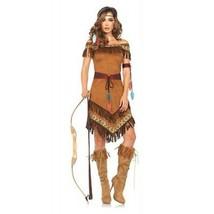 Leg Avenue Nativo Princesa Wild Forest Natural Hunter Disfraz Halloween 85398 - $52.71