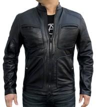 James T Kirk Star Style Replica Men Leather Jackett
