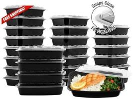 Storemaxx Snap Pak 25 Pcs (25 Box W/ Lids) Rectangular Food Storage Cont... - $17.82