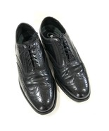 $230 Florsheim Imperial Wing Tip Black Leather Lace Oxfords Mens Size 9.... - $58.95