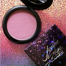 MAC Justine Skye Iridescent Face Powder Highlighter Blush Cool Berry Spa... - $24.50