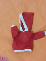 TAMMY BEAU AND ARROW #9117-3 doll clothes RED HOODED SHIRT  outfit 1960's  - $8.79