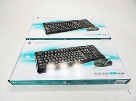 Lot of 2 New Logitech MK120 Wired Desktop Keyboard & Mouse - $22.28