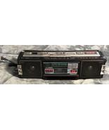 Vintage Panasonic RX-FM40 XBS AM/FM Radio Cassette Recorder Player Boomb... - $24.74