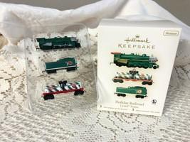 Hallmark Keepsake Ornament Holiday Railroad Lionel Trains Miniatures - $16.83