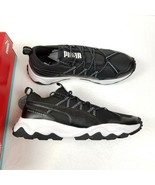 Puma Ember Trail Running Shoes Mens 11.5 Black White Outdoors Lace Up w/... - $54.19